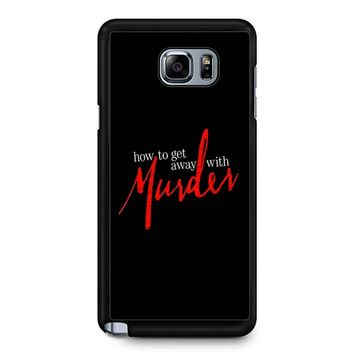 How To Get Away With A Murderer Samsung Galaxy Note 5 Case