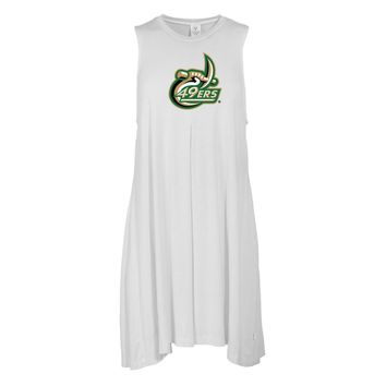 Official NCAA North Carolina at Charlotte - PPNCC01 Women's Sleeveless Spandex Pleat Dress