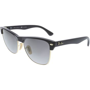 Ray-Ban Men's Clubmasters RB4175-877/M3-57 Black Clubmaster Sunglasses