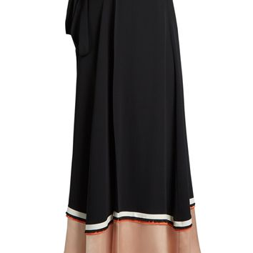 Leif contrast-panel silk-blend crepe skirt | Roksanda | MATCHESFASHION.COM UK