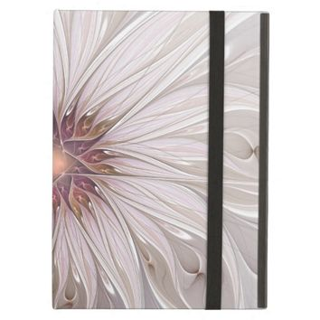 Floral Fantasy Abstract Fractal Art iPad Air Covers