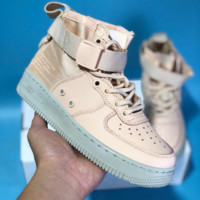 DCCK N594 Nike Air Force 1 Special Field SF-AF1 MID Zipper Leather Sports Leisure Running Shoes
