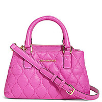 Vera Bradley Quilted Emma Mini Convertible Satchel