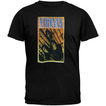 Nirvana - Orange Photo T-Shirt
