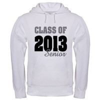Class of 2013 (Senior) Hoodie by OXgraphics
