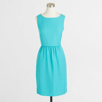 Factory petite sleeveless ruched dress : AllProducts | J.Crew Factory