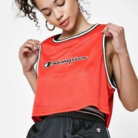 LMFONDI5 Champion Mesh Cropped Tank Top