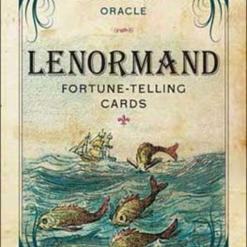 Lenormand Fortune-telling Cards By Harold Josten