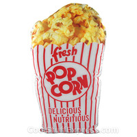 Popcorn Pillow - The Pillow That Looks Like A Bag Of Popcorn