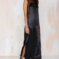 Karla Spetic Dream Master Satin Dress