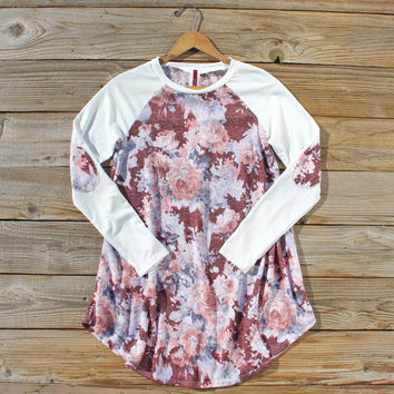 Fir & Bloom Tunic in Burgundy