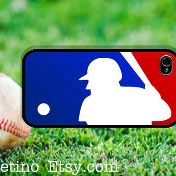 Major League Baseball Logo MLB iPhone 5 Case antique iPhone 4 case, iPhone 4S case, Hard Plastic Case, Iphone Cover, world ,sport