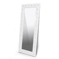 Walmart: Stella Crystal Tufted Modern Floor Mirror, Multiple Colors