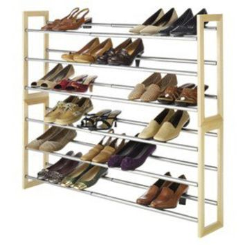 Threshold™ 3-Tier Expanding Wooden Shoe Rack
