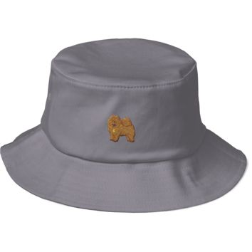 Chow Chow Bucket Hat For Women | Funny Dog Lover Cap | The Jazzy Panda