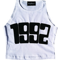 1992 Crop Top by The3rdClass on Etsy