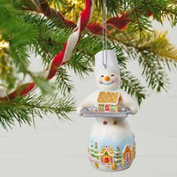 Snowtop Lodge Ginger N. Sweethaus Ornament