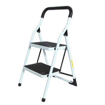 Portable Household Ladder 2 Steps Folding Stool Ladders Stair Platform Homestyle