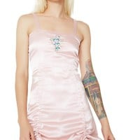 Cross And Lily Satin Dress