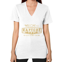 Bioshock Welcome to Rapture V-Neck (on woman)