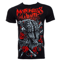 Motionless In White Evil Crow T Shirt (Black) | Blue Banana UK