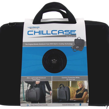 Lap Gear ChillCase Mobile Notebook Laptop Case Cooling Fan TSA Friendly 46117