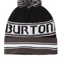 Burton Trope Pom Beanie - Mens Hats - Black - One