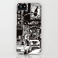New York New York iPhone Case by Bianca Green | Society6