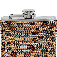 LEOPARD CRYSTAL FLASK