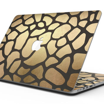 Dark Gold Flaked Animal v5 - MacBook Pro with Retina Display Full-Coverage Skin Kit
