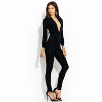 Deep Down Plunging Jumpsuit - GoJane.com