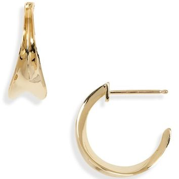 Bony Levy Concave Small Hoop Earrings (Nordstrom Exclusive) | Nordstrom