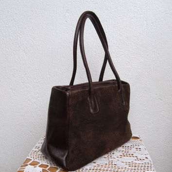 Best Chocolate Brown Leather Handbags Products on Wanelo