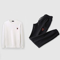 Louis Vuitton Top Sweater Pullover Pants Trousers Set Two-Piece Sportswear