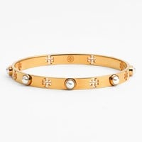 Women's Tory Burch Faux Pearl Bangle