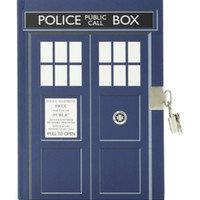 Doctor Who TARDIS Lock Journal