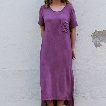 Sip & Savor Wine Maxi Dress