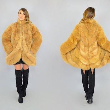 80's Alpaca Fur Coat