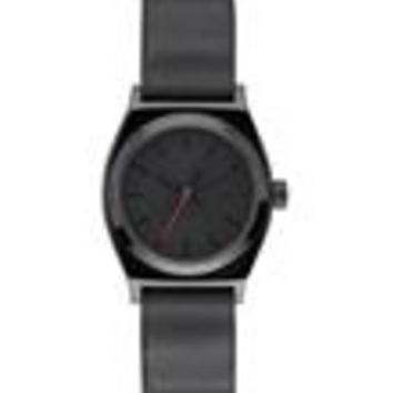Nixon Small Time Teller Leather Vader Watch