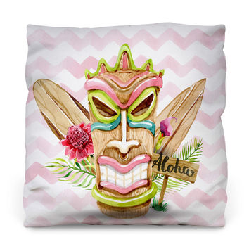 Aloha Boy Outdoor Throw Pillow