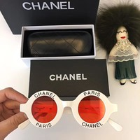 CHANEL Women Fashion Sunglasses