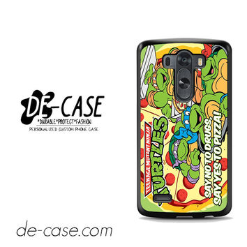 Tmnt Ninja Turtle Say Yes To Pizza For LG G3 Case Phone Case Gift Present YO