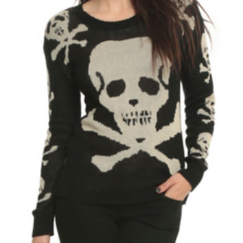 Skull & Crossbones Sweater