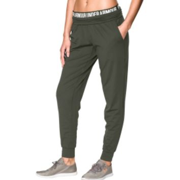 Under Armour Women's Downtown Knit Jogger Pants | DICK'S Sporting Goods
