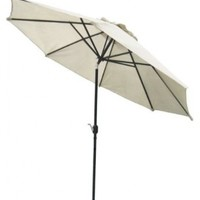 Coolaroo Market Umbrella Smoke 11-Feet