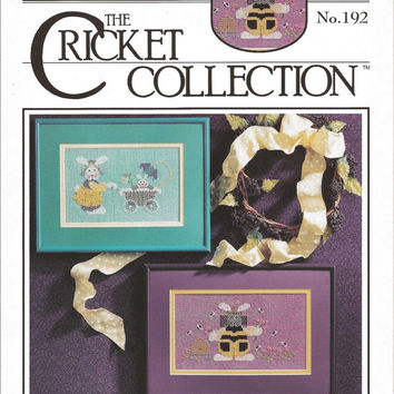Busy Bunny - The Cricket Collection (Multiple Designs) Cross Stitch Pattern Chart Graph