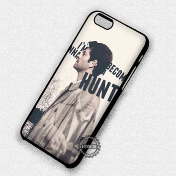 Quote Cas Castiel Misha Collins Supernatural - iPhone 7 6 5 SE Cases & Covers