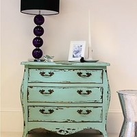 demi turquoise chest of drawers by out there interiors | notonthehighstreet.com