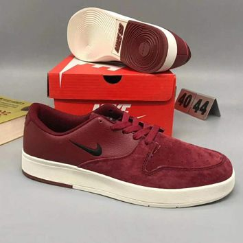 on sale 20bc9 1b414 Nike SB Zoom Stefan Janoski Autumn Winter Casual Shoes Wine Red