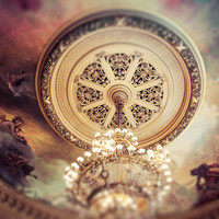 Paris Opera House Ceiling Fine Art Photography Print